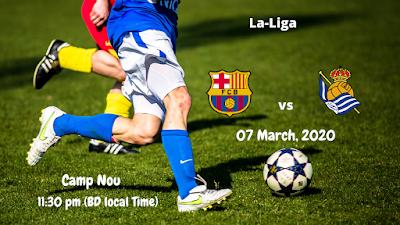 FC Barcelona vs Real Sociedad | La Liga Match