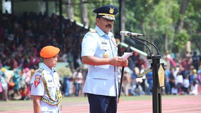 Panglima TNI :  Latihan Chandradimuka Salah Satu Upaya Membentuk Sinergisitas TNI-Polri