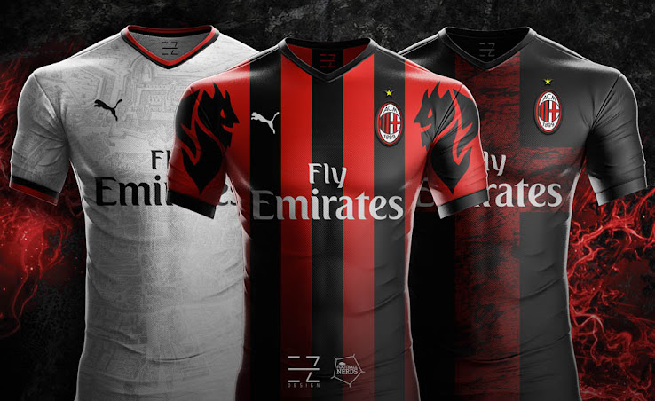 Puma AC Milan 18-19 Home 7407a05db82b2