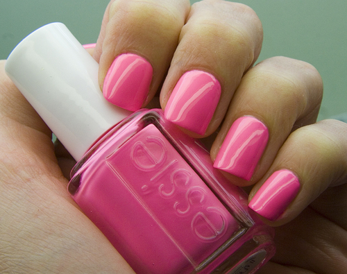 New Nail Design: Neon Pink Nails 2012 | La vie en rose ...