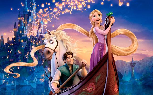 Imagen promocional de la película de Disney Enredados