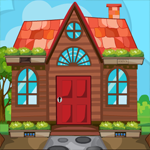 Games4King Cartoon Garden House Escape