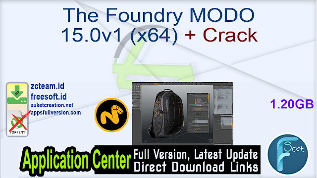 The Foundry MODO 15.0v1 (x64) + Crack