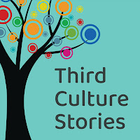 TCKs of Asia podcast logo. A tree with colorful bubbles on its branches, with the title Third Culture Stories