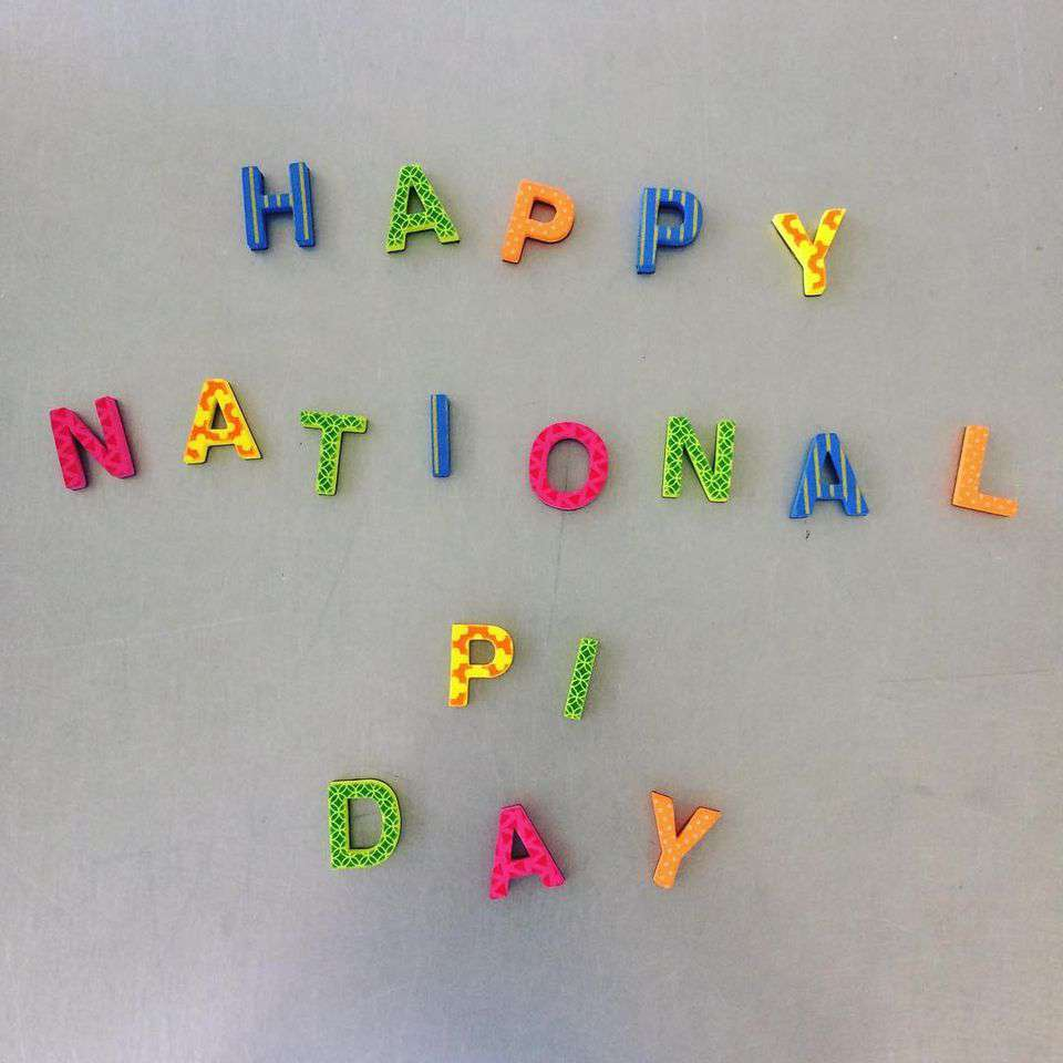 National Pi Day Wishes Unique Image