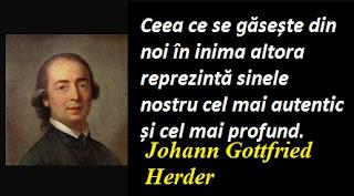 Citatul zilei: 25 august - Johann Gottfried Herder