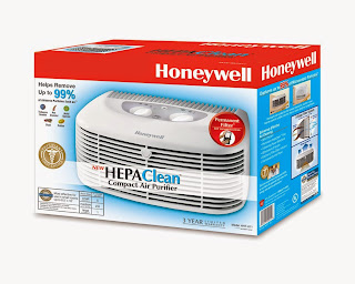 Honeywell HHT-011 Compact Air Purifier with Permanent HEPA Filter, picture, image, review features and specifications