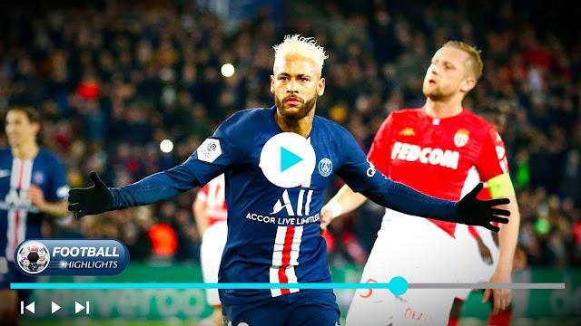 Paris Saint Germain vs AS Monaco Highlights
