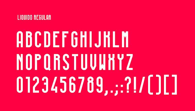 LIQUIDO Free Font Download