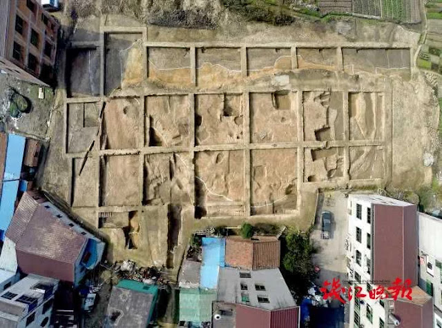 9,000-year-old settlement unearthed in China's Zhejiang