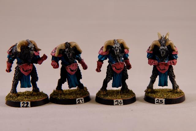 4 Beastmen Warriors