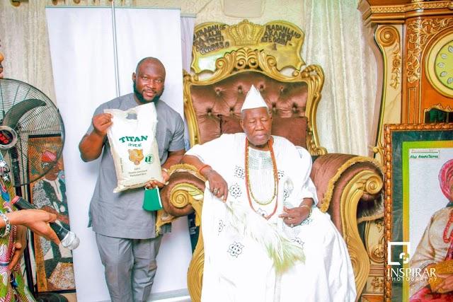 [BangHitz] Titan Farms honoured by Olubadan, as he becomes Patron