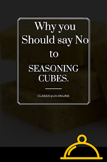 No to Seasoning Cubes