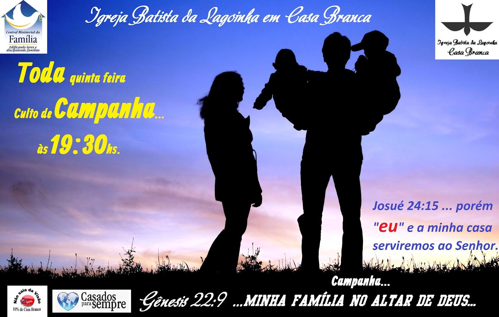MINISTÉRIO VOZ DO ESPÍRITO SANTO: CULTO DE CAMPANHA! TEMA
