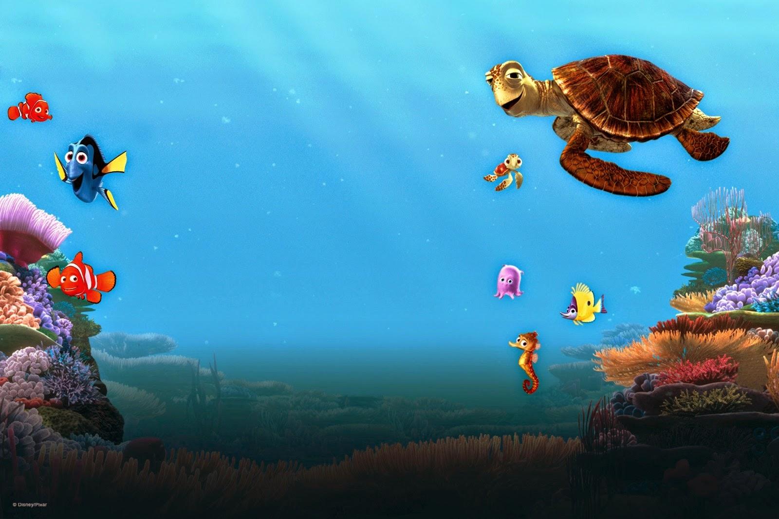 Finding Nemo D Animasi Hd Wallpaper: IPHONE: Finding Nemo Wallpaper