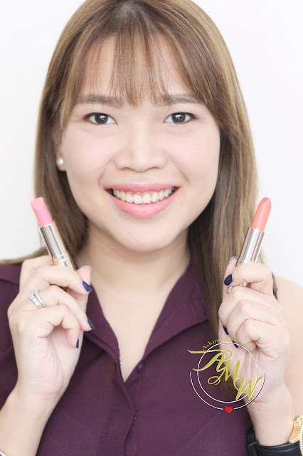 a photo of Estee Lauder NEW Pure Color Love review in Sky High and Sly Wink