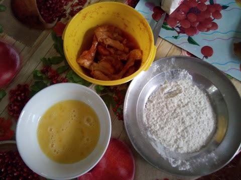 recette de poulet pané