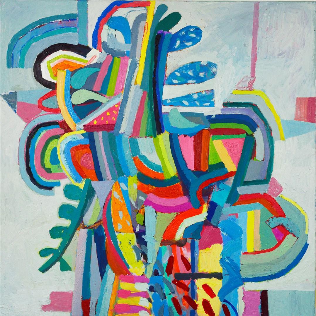 Elizabeth Foster - Puzzle Tree (oil) - Royal Academy Summer Exhibition 2021 - London lifestyle & culture blog