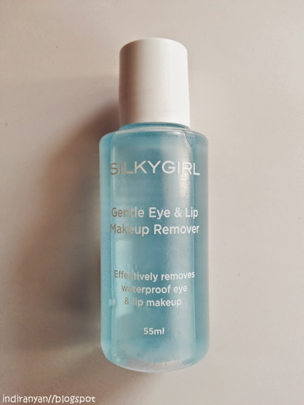 REVIEW: Silkygirl Gentle Eye and Lip Makeup Remover