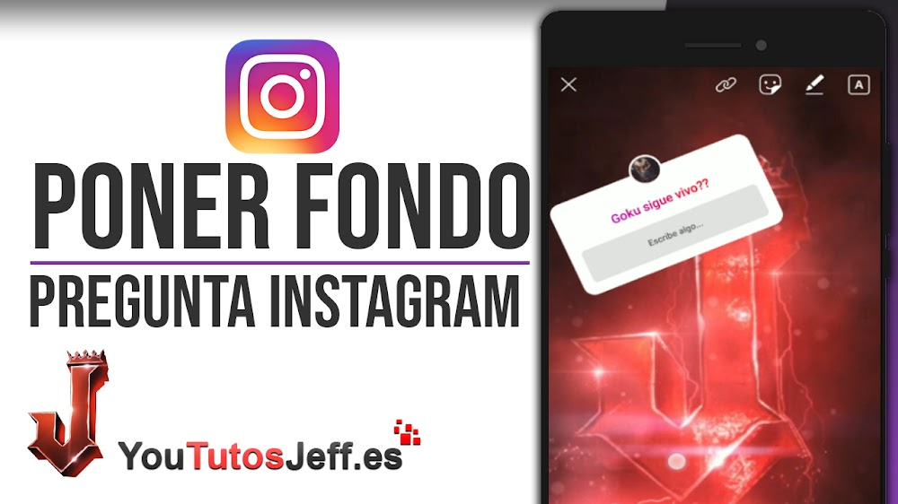 Poner Foto de Fondo en Pregunta Storie de Instagram - Trucos Instagram