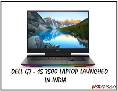 Dell G7 15 7500 launched in India