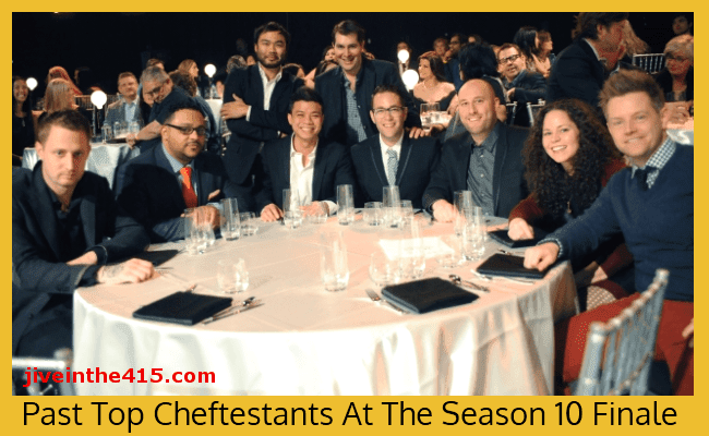 Past Top Chef Contestants at the Top Chef Seatlle Finale