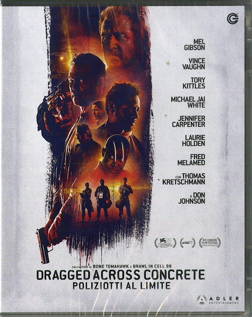 Dragged Across Concrete Blu-Ray