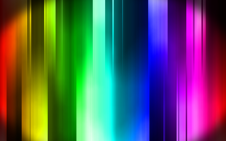 techno rainbow background - photo #14