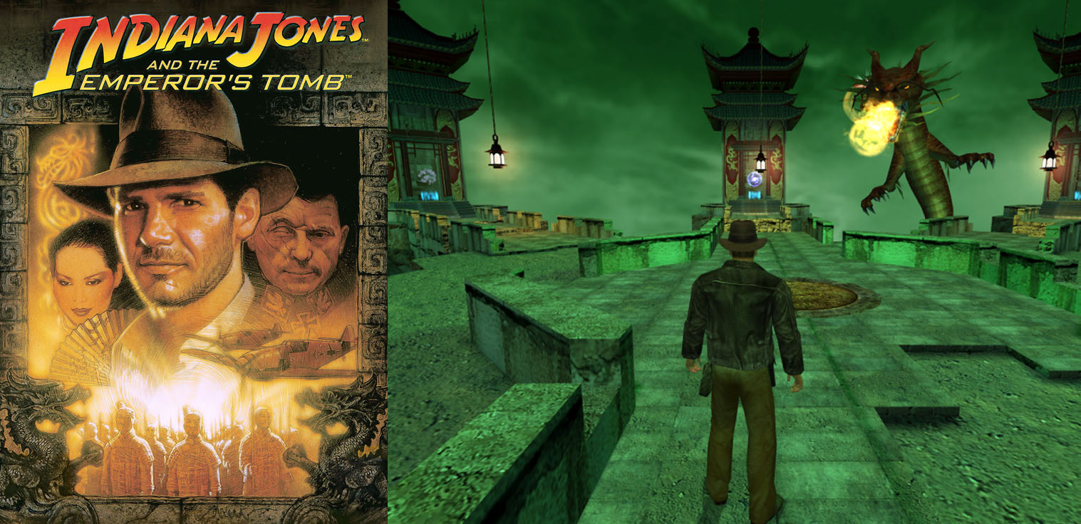 Indiana Jones e la tomba dell'imperatore PS2 Xbox PC