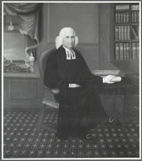 Portrait ot Wheelock at his desk