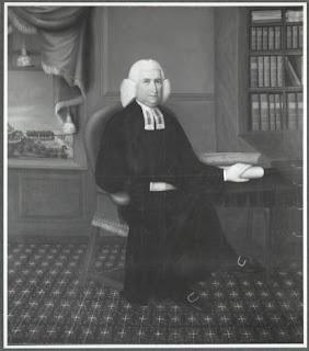 Portrait ot Wheelock at his desk