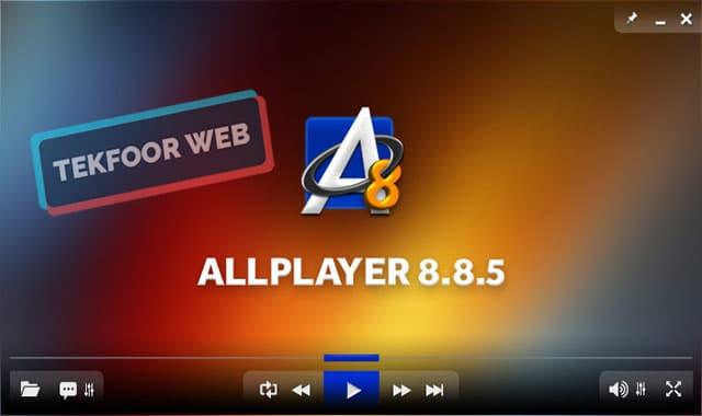 تحميل مشغل فيديو جميع الصيغ لويندوز 7 برنامج AllPlayer