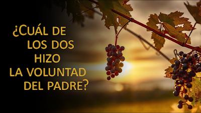 Evangelio según san Mateo (21, 28-32): ¿Cuál de los dos hizo la voluntad del padre?
