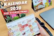 Promo Pizza Hut Gratis Kalender 2020 + 12 Kupon Promo Setiap Bulan