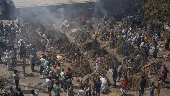 Kematian Corona di India Tembus 200.000 Orang, Masjid Jadi Tempat Perawatan