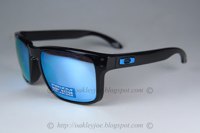 Oakley Holbrook OO9102 C1 57 polished black / prizm deep H2O polarized 5xYhiA6s