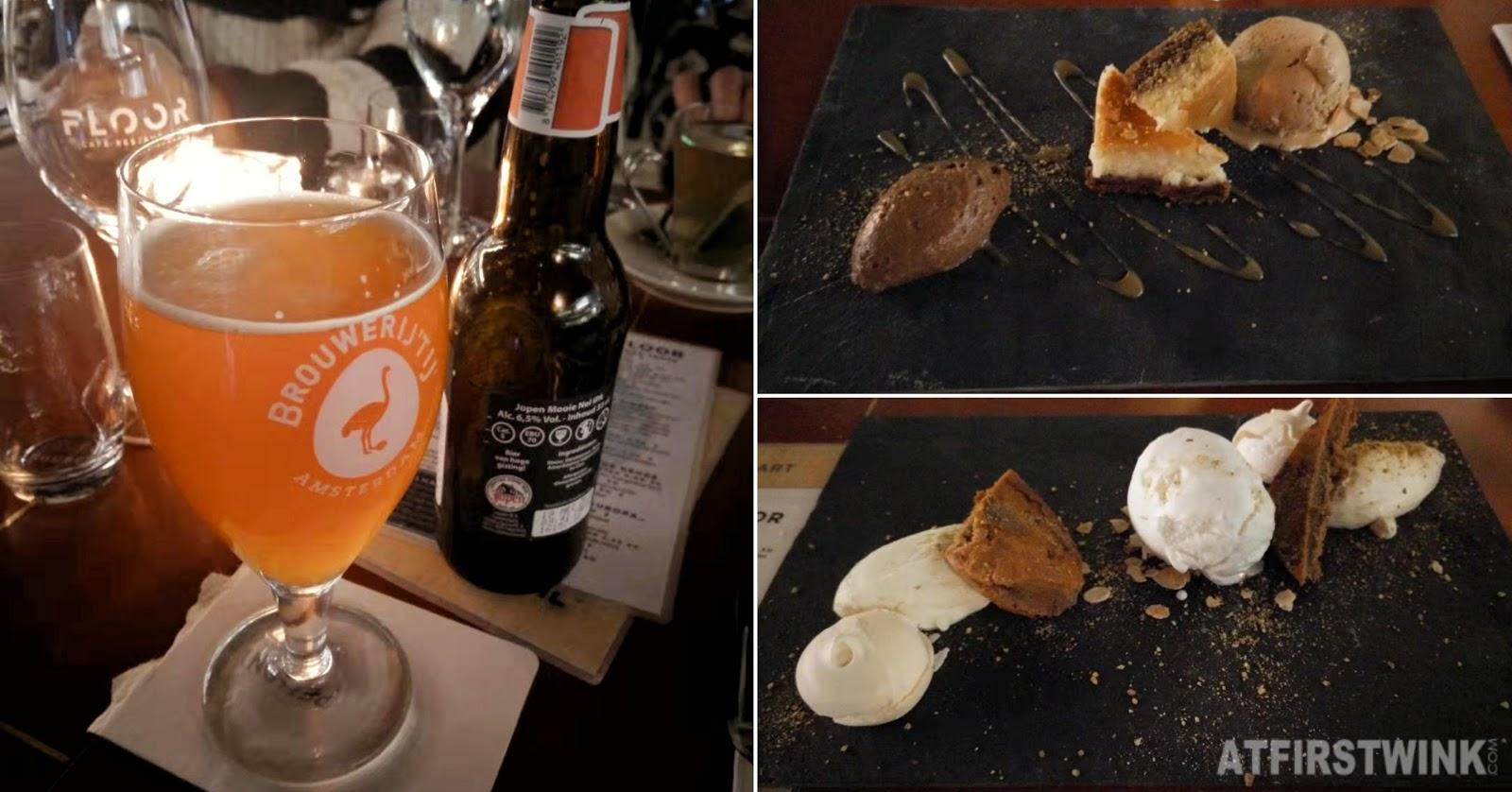 Floor restaurant Rotterdam beer desserts