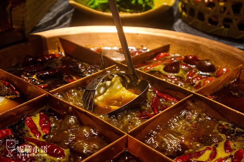 【微風信義美食】麻辣45。正宗九宮格!頂級和牛重慶麻辣火鍋