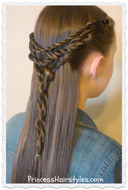 tangled twists tie hairstyle