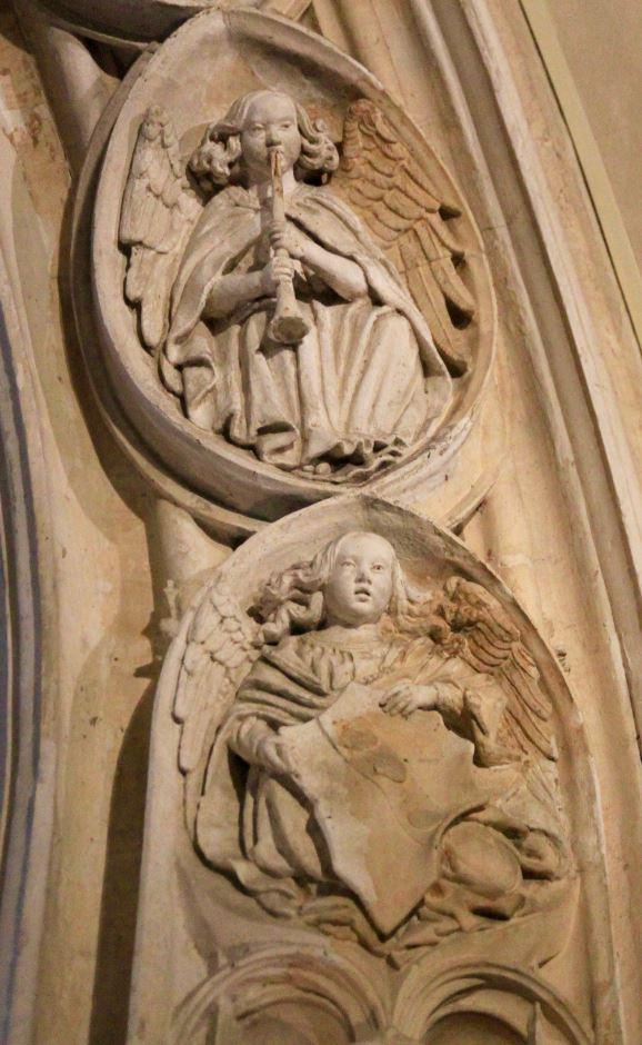 anges musiciens église Saint-Paul - Lyon