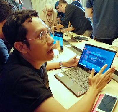 Blogger Eksis sedang uji coba Microsoft Office 365