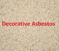 Decorative Asbestos production