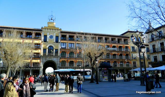 Praça do Zocodover, Toledo, Espanha