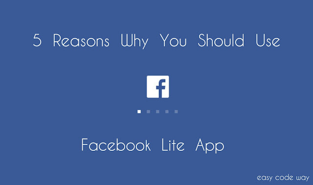 Facebook Lite App Features