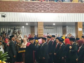 Resmi, 50 Anggota DPRD Kabupaten Cirebon Mengemban Amanat Rakyat
