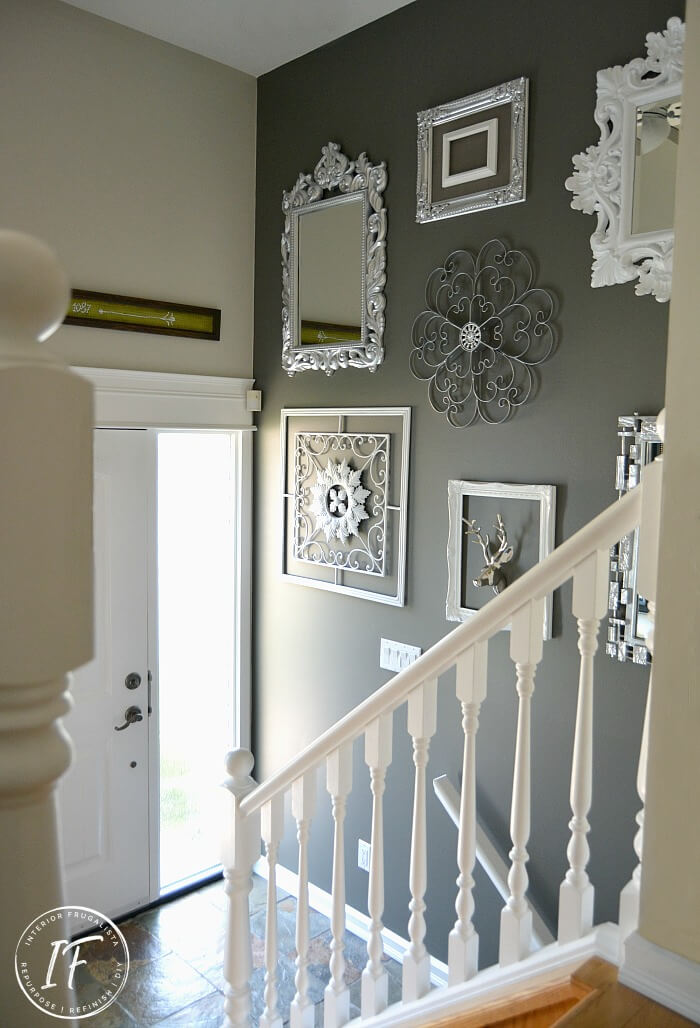 Glam Entry Gallery Wall