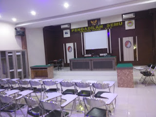 Ruang Klinis Hukum dan Pengadilan Semu FH Universitas Asahan