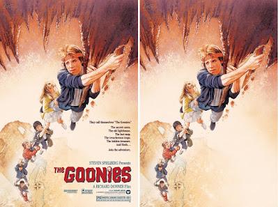 The Goonies Screen Print by Drew Struzan x Bottleneck Gallery