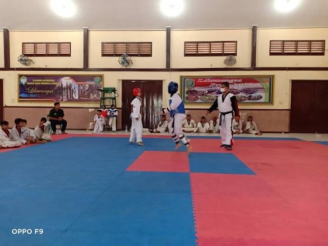 Pengcab Aceh Utara Seleksi Atlet Taekwondo