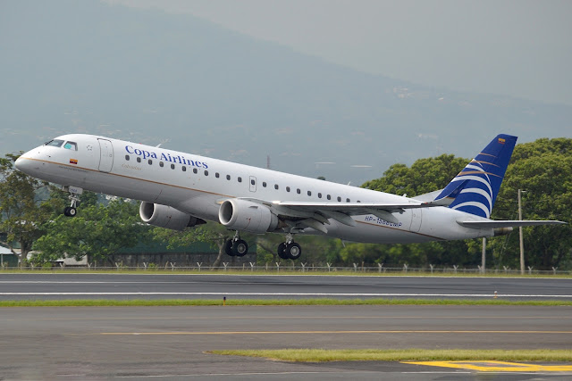 Copa Airlines Colombia With Embraer E190